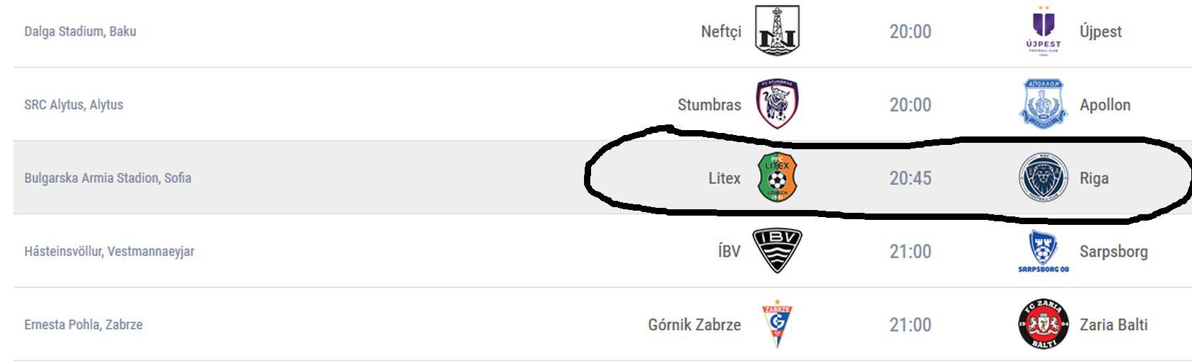 Официалният сайт на европейската футболна централа (УЕФА) изписва името на