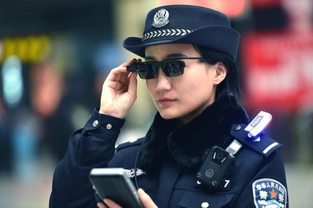 Снимка: Би Би СиПолицията в Китай започна да използва слънчеви