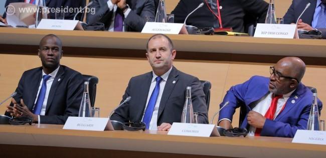 Снимка: Президентът Румен Радев: Не можем повече да се преструваме, че климатичните промени не са проблем