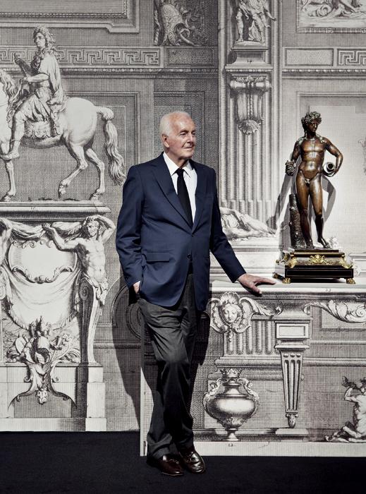 Легендата на френската висша мода, дизайнерът Юбер дьо Живанши, който