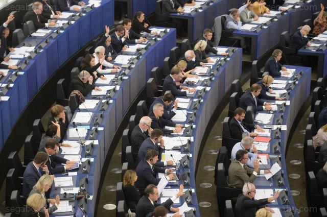 СНИМКА ЕПА/БГНЕСБроят на евродепутатите ще бъде намален след изборите през