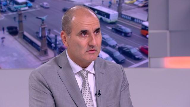 Снимка bTV.Министърът на вътрешните работи Валентин Радев не трябва да