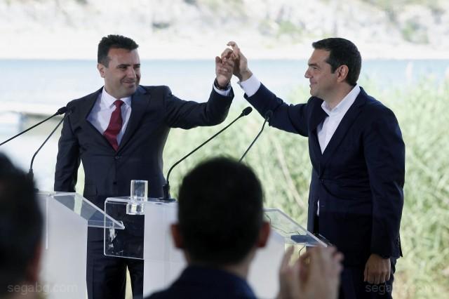 снимка: БГНЕСПравителството на премиера Алексис Ципрас оцеля при вота на