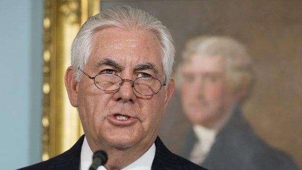 Снимка ЕПА/БГНЕСАмериканският държавен секретар Рекс Тилърсън заяви, че американските военни