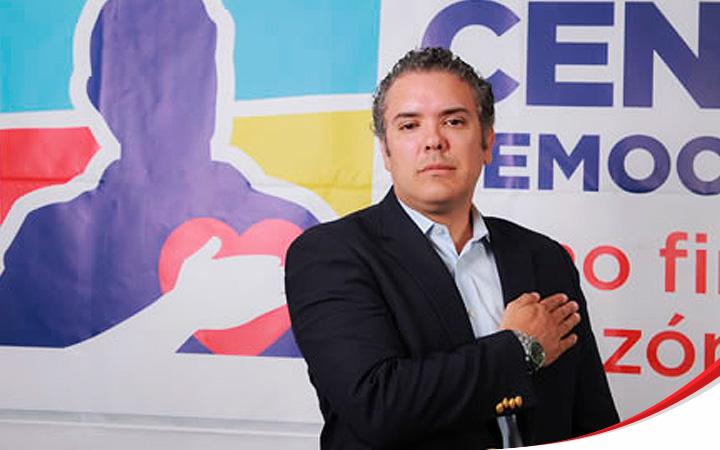 Кандидатът на дясната партия Демократичен център Иван Дуке е новият
