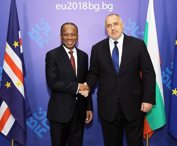 Премиерът Бойко Борисов се срещна с премиера на Кабо Верде