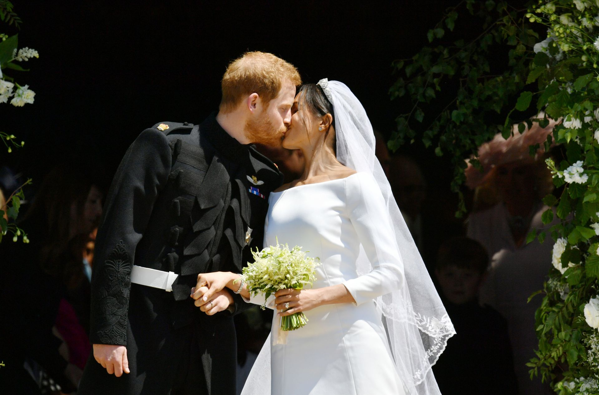 Снимка: Си Ен ЕнБританският принц Хари и американката Меган Маркъл
