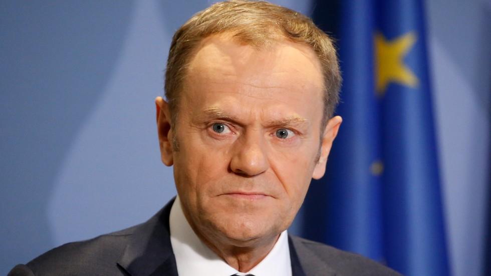 Снимка БГНЕСПредседателят на Европейския съвет Доналд Туск заяви, че част
