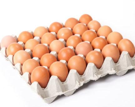 Около 1.1 млн. яйца са изтеглени от магазини и складове
