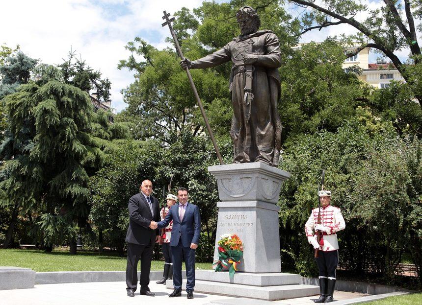Премиерите на Македония и България Зоран Заев и Бойко Борисов