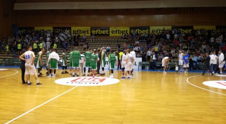 Вторият финален мач за титлата на България по баскетбол между