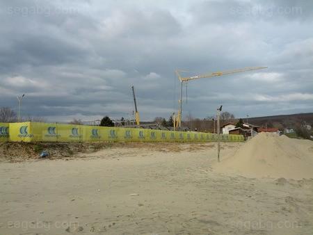 11 нови бунгала по протежение на плажната ивица се строят