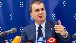 Министърът по европейските въпроси на Турция Омер Челик заяви, че